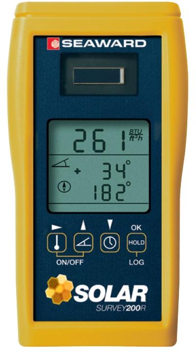 Thiết bị đo bức xạ năng lượng mặt trời
