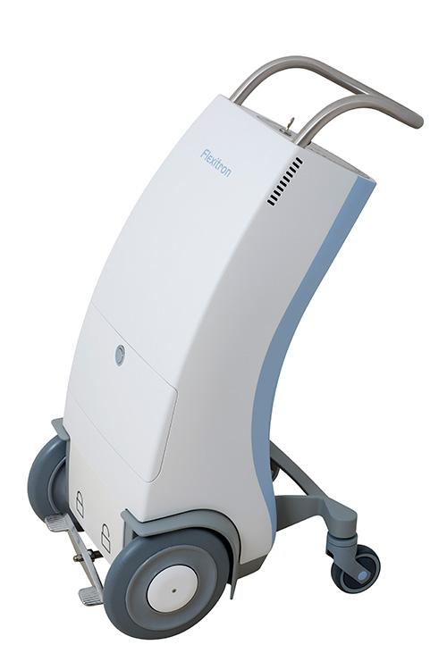 TB KĐ máy xạ trị áp sát nạp nguồn sau bằng điều khiển từ xa