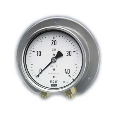Đồng hồ áp suất công tác kiểu chênh áp.