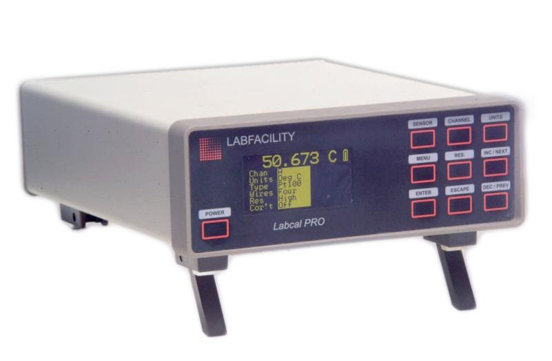 Thiết bị đo, chuẩn nhiệt độ chính xác cao
