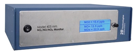Thiết bị giám sát hàm lượng khí NO2/NO/NOx